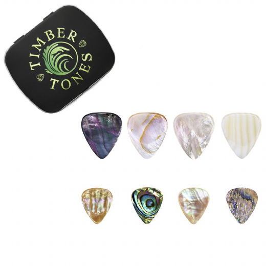 Shell Guitar Pick Collection
